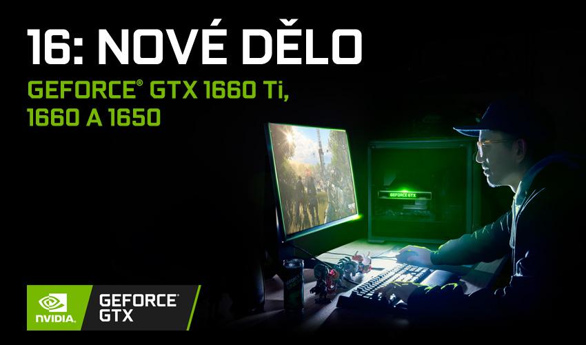 NVIDIA představila čip GeForce GTX 1650 pro stolní