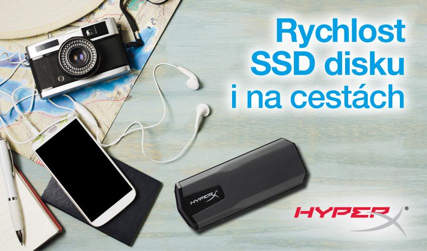 Rychlost SSD disku i na cestách